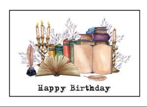 Birthday Card Books