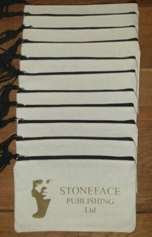 Stoneface Zip Pouches